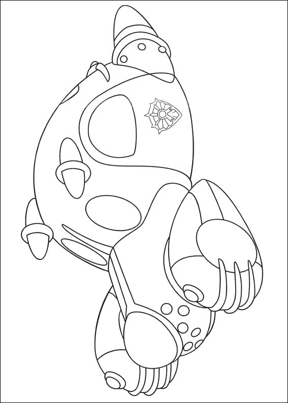 A car of Tenma Coloring Page