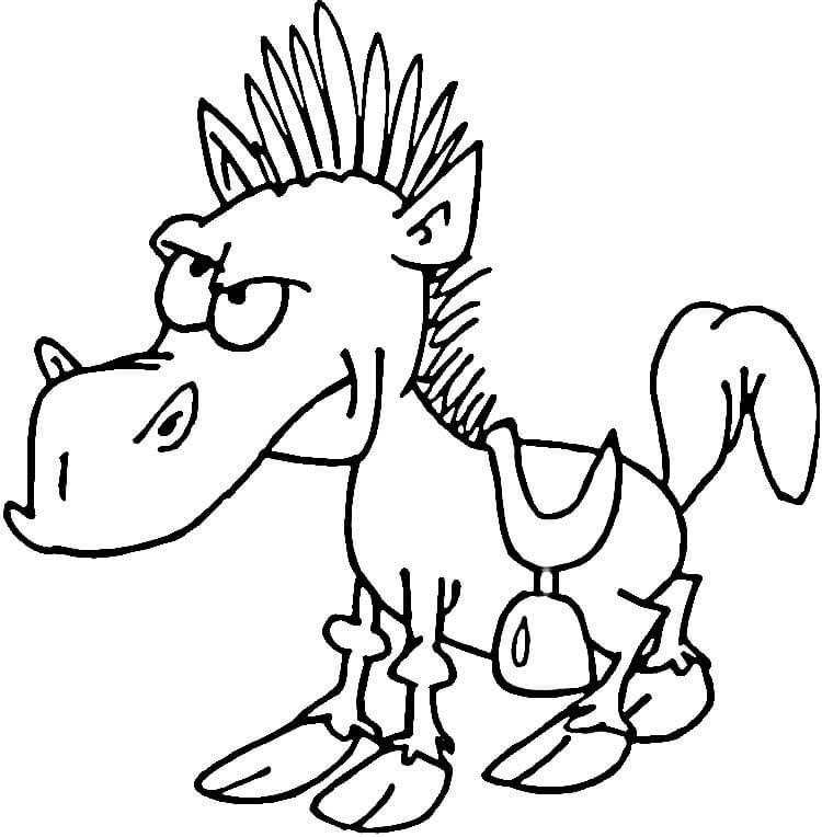 A Funny Horse