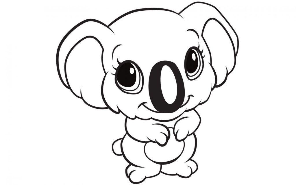 A koala Coloring Page