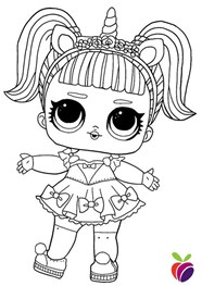 A Little Dolll For You Coloring Page