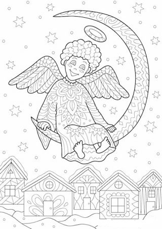 A Pretty Angel Christmas
