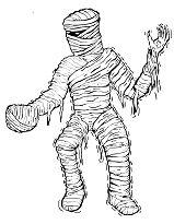A Scary Mummy