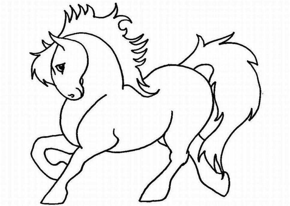 A Shy Barbie Horse