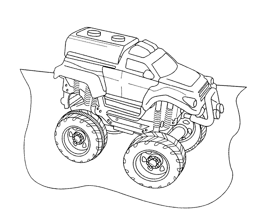 A Simple Monster Truck