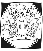 A Strange Castle With Ghosts