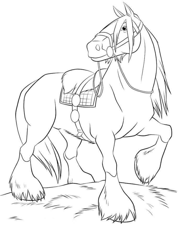 A Strong Barbie Horse