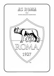 A.S. Roma Coloring Page