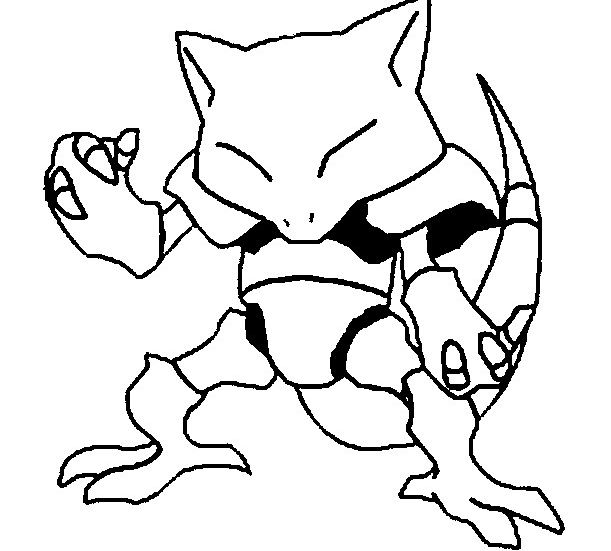 Adult Pokemon Coloring Page Free Coloring Pages Online
