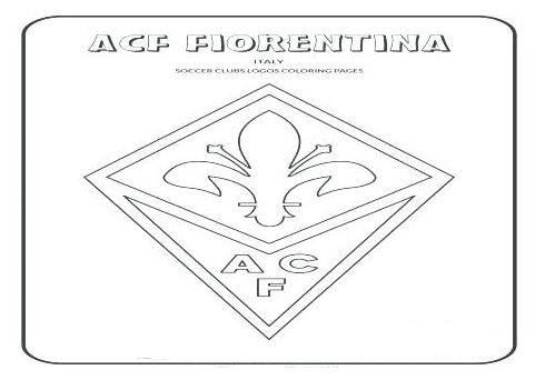 ACF Fiorentina Coloring Page