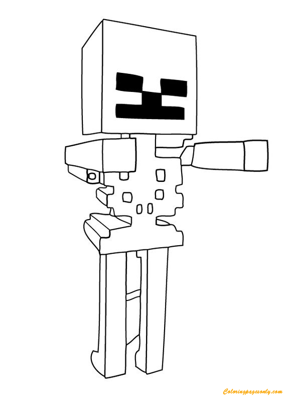 Activities Minecraft Coloring Page Free Coloring Pages