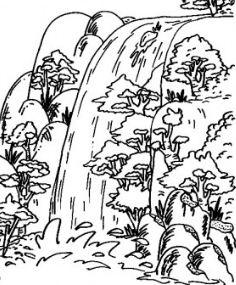 Adaberbagai Waterfall