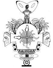 African Ashanti Mandala