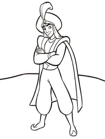 Prince Ali from Aladdin
