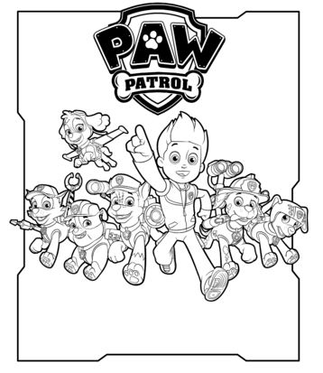 All Paw Patrol Characters