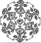 All Seeing Eye Mandala
