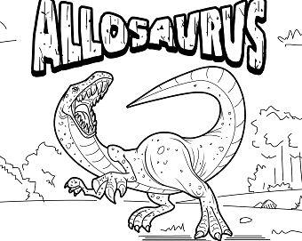 Allosaurus Dinosaur 1