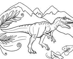 Allosaurus Dinosaur 2