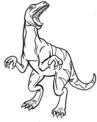 Allosaurus Dinosaur 3