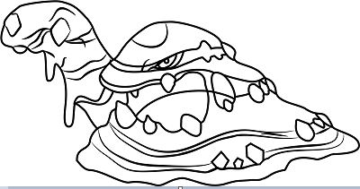 Zygarde Coloring Page - Squishy Pokemon Coloring Pages Clipart ... | 211x400