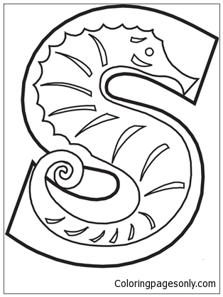 ABC Alphabet Coloring Sheets - ABC Zebra - Animals coloring page ... | 417x314
