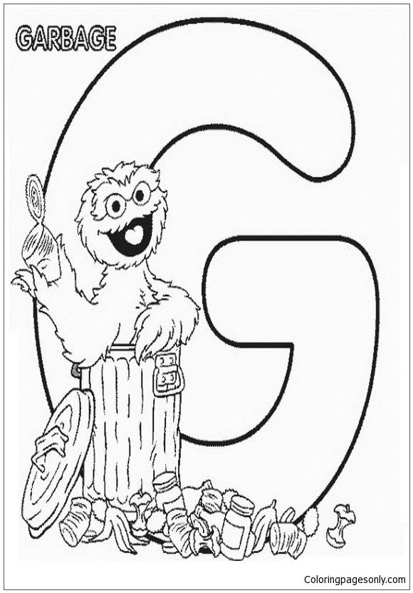 Alphabet Letter G Coloring Pages Alphabet Coloring Pages Free Printable Coloring Pages Online