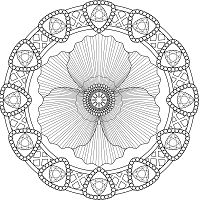 Amazing Advanced Mandala