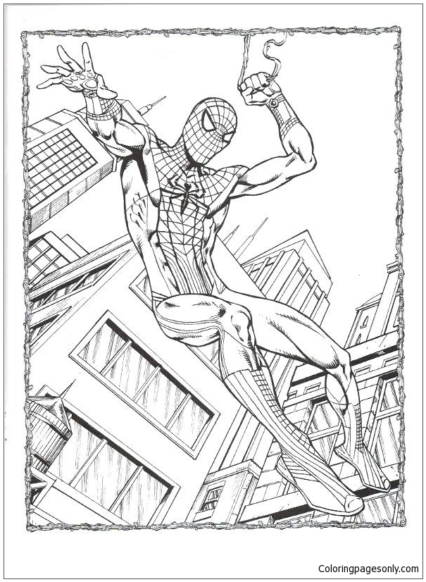 Amazing Spider Man 4 Coloring Pages Spiderman Coloring Pages Free Printable Coloring Pages Online