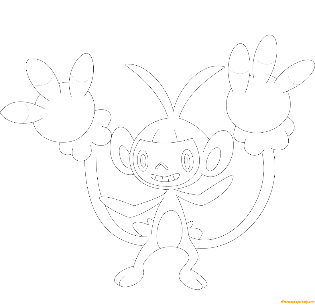 Pokemon Coloring Pages Eevee evolution to Umbreon I Colouring book ... | 1072x1100