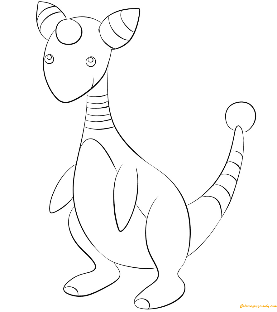 ampharos coloring pages - photo#3