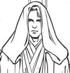 Anakin From Skywalker Coloring Page