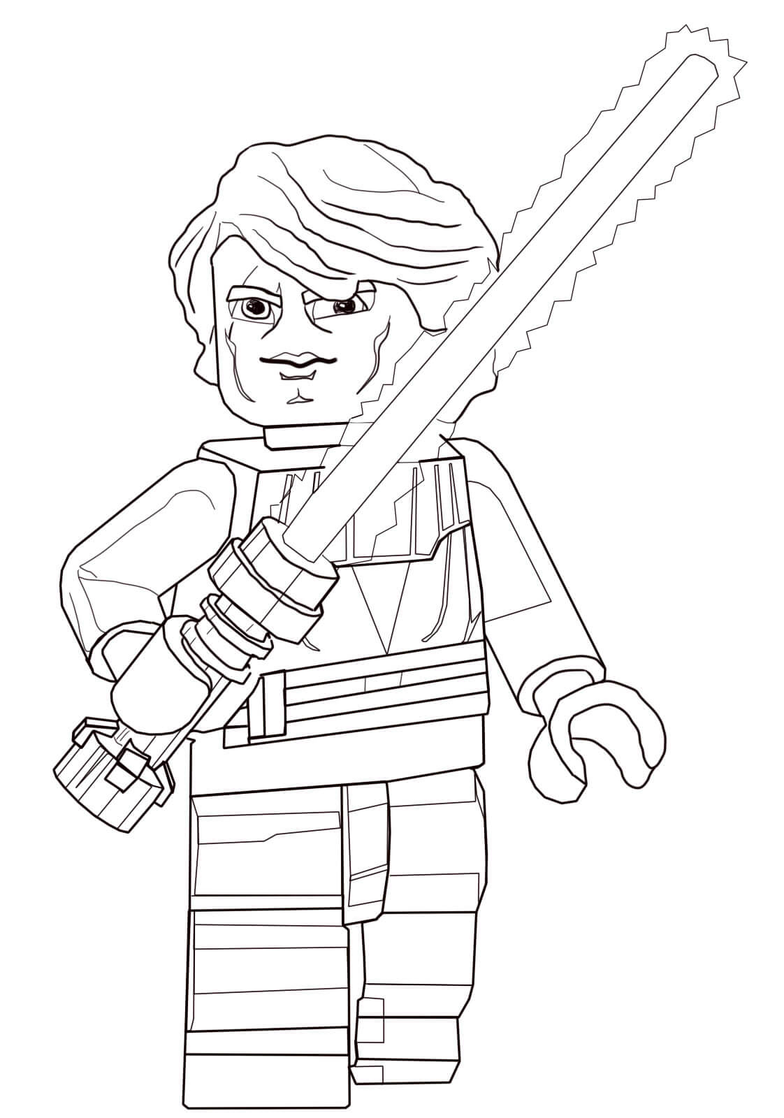 Anakin Skywalker from Lego Star Wars