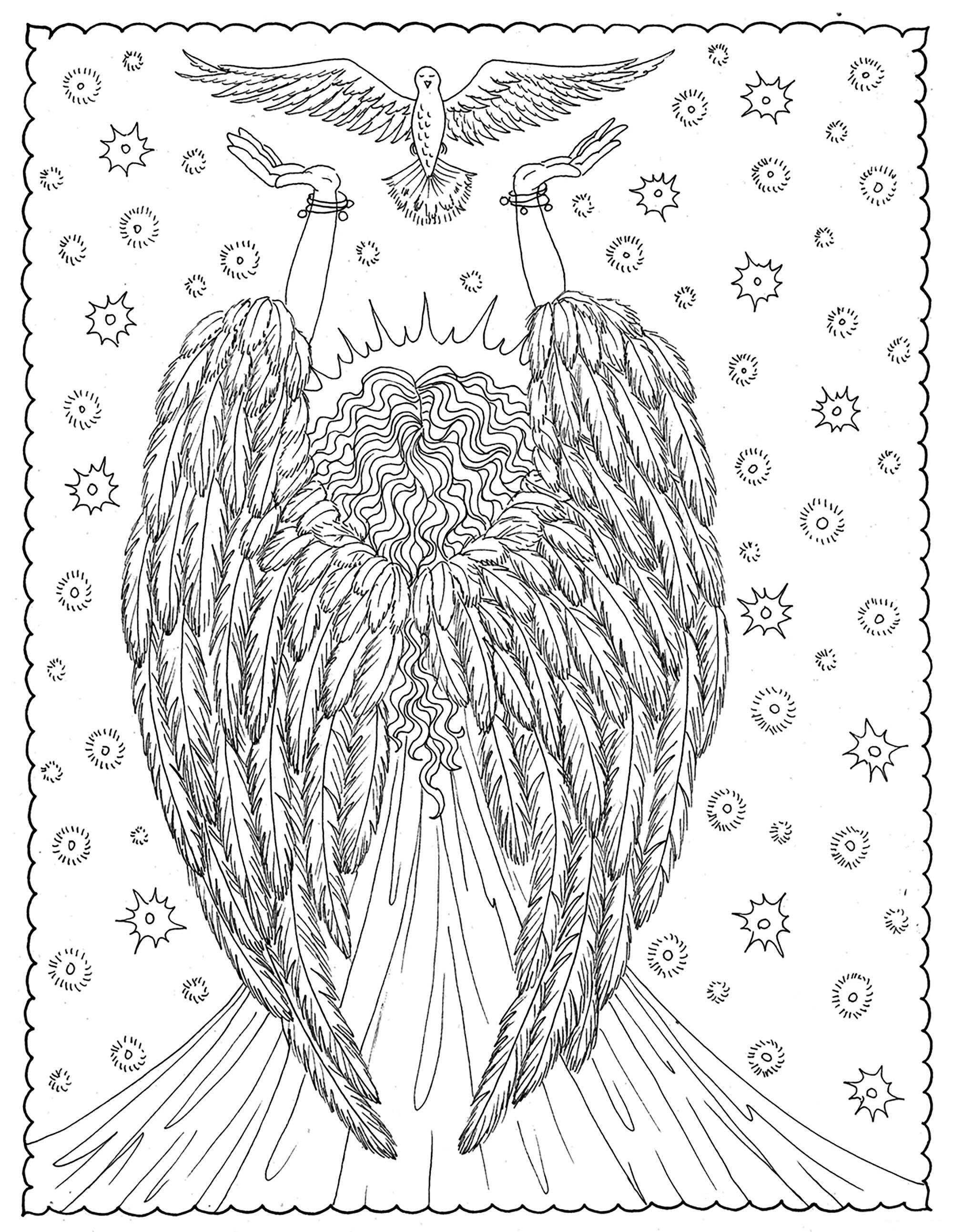 Angels of Liberty Coloring Page