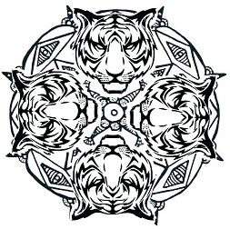 Animal Mandala 2