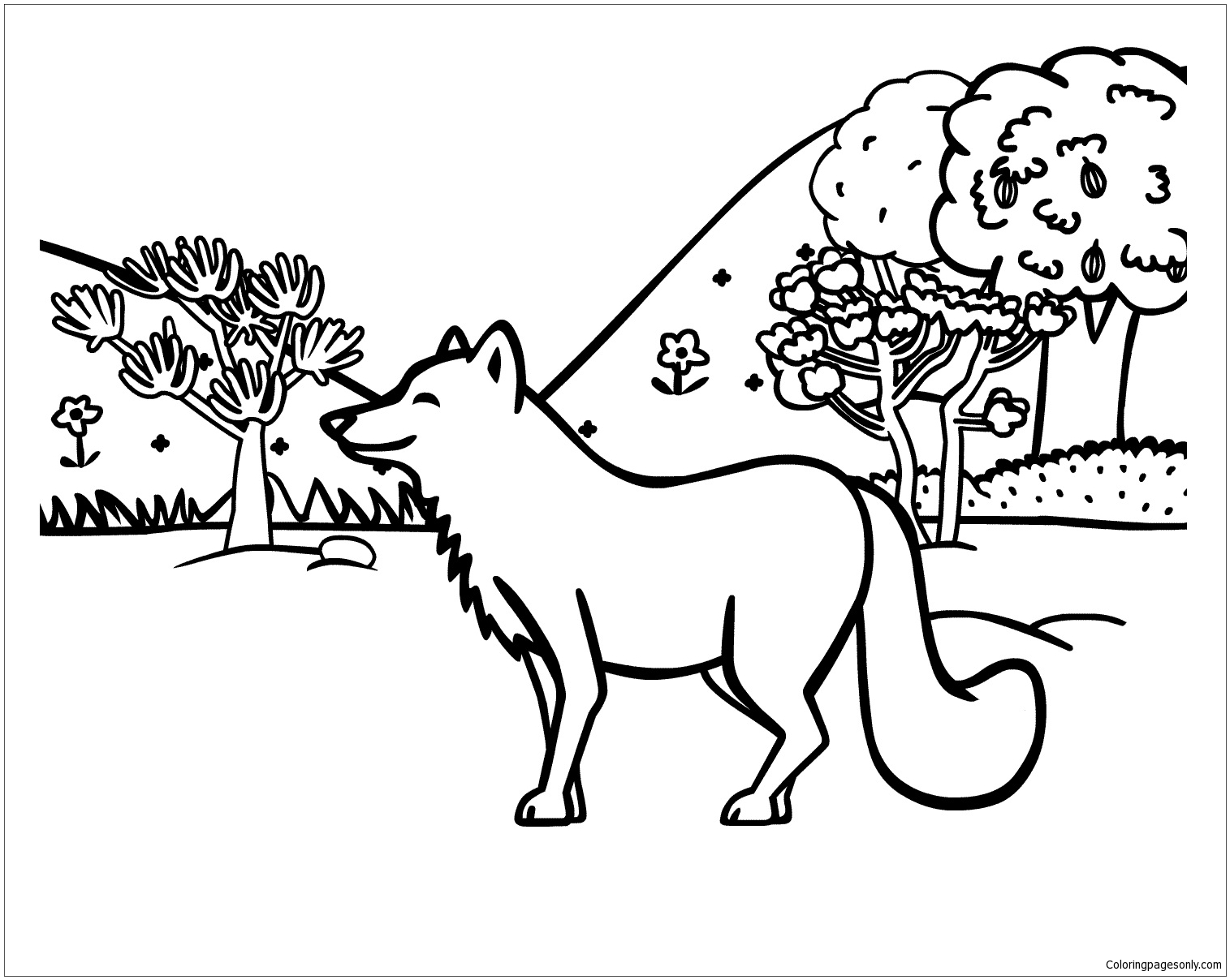Animal Planet  Coloring Page