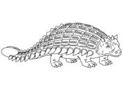 Ankylosaurus Armored Dinosaur