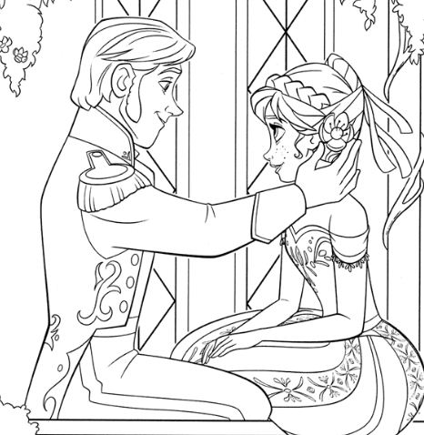 Anna And Prince Hans Are In Love