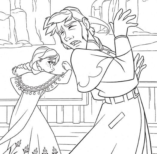 Anna Attacking Hans