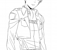 Protector of the people of the island Coloring Page