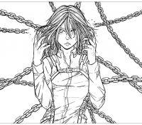 Historia Reiss from AOT Coloring Page