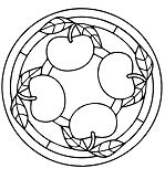 Apple Mandala
