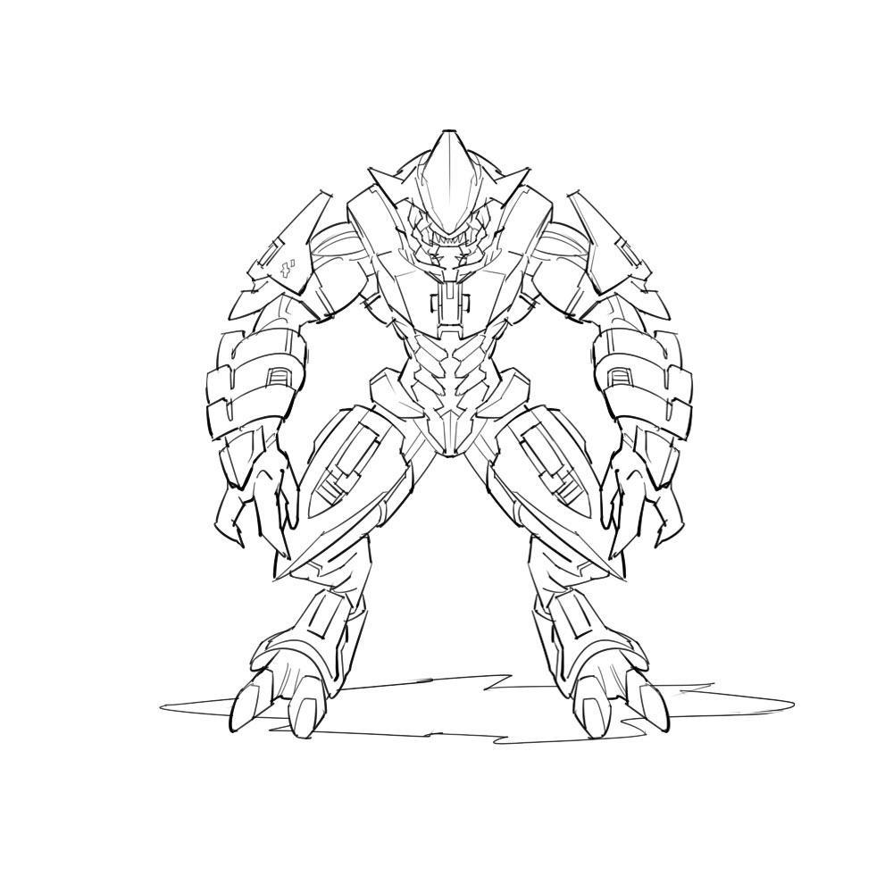 Arbiter from Halo