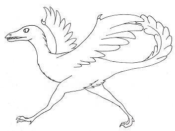 Archaeopteryx Dinosaur 1