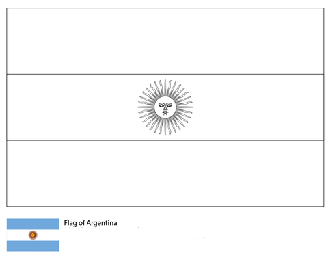 Flag of Argentina-World Cup 2018