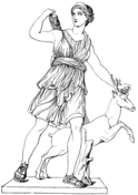 Artemis Coloring Page
