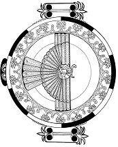 Assyrian Wing Circle Mandala