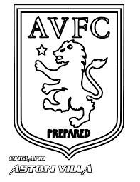 Aston Villa F.C. Coloring Page