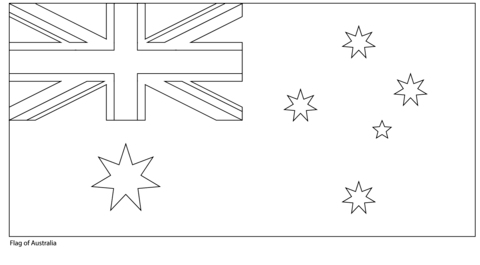 Flag of Australian-World Cup 2018