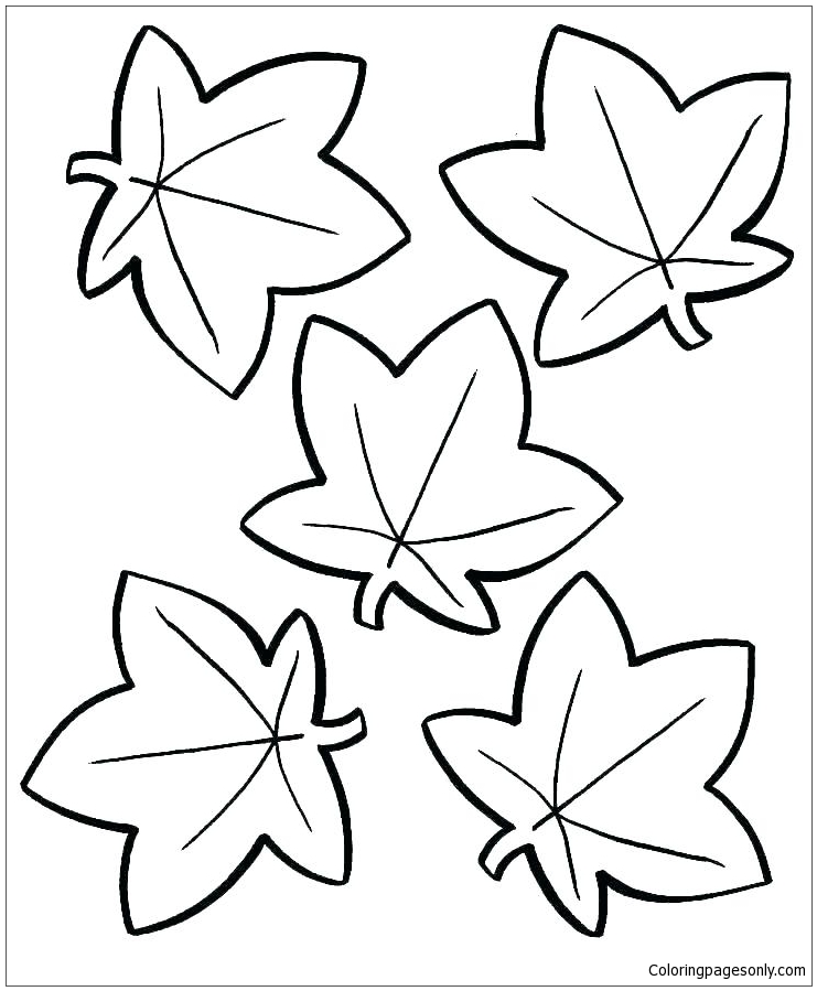 - Autumn Leaf Coloring Page - Free Coloring Pages Online