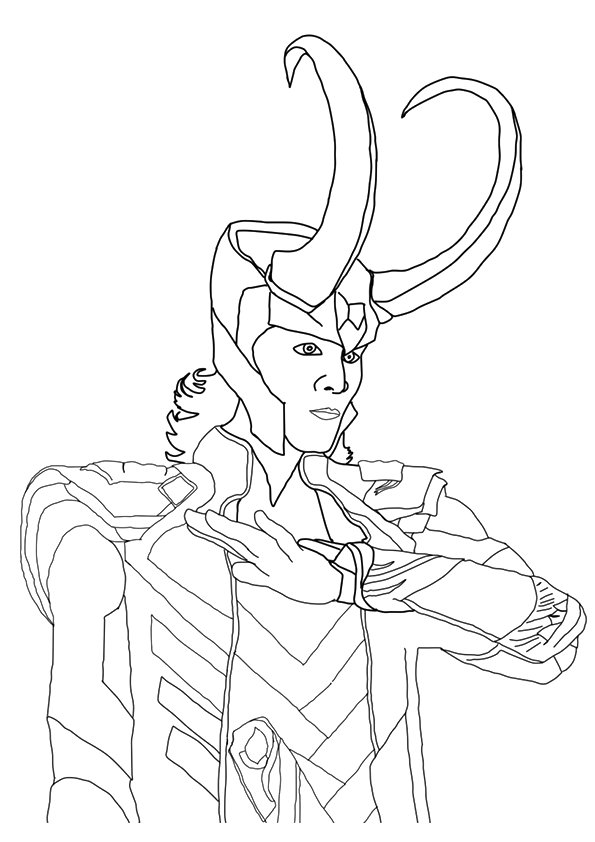 Team Members Of Avengers Coloring Page Free Coloring