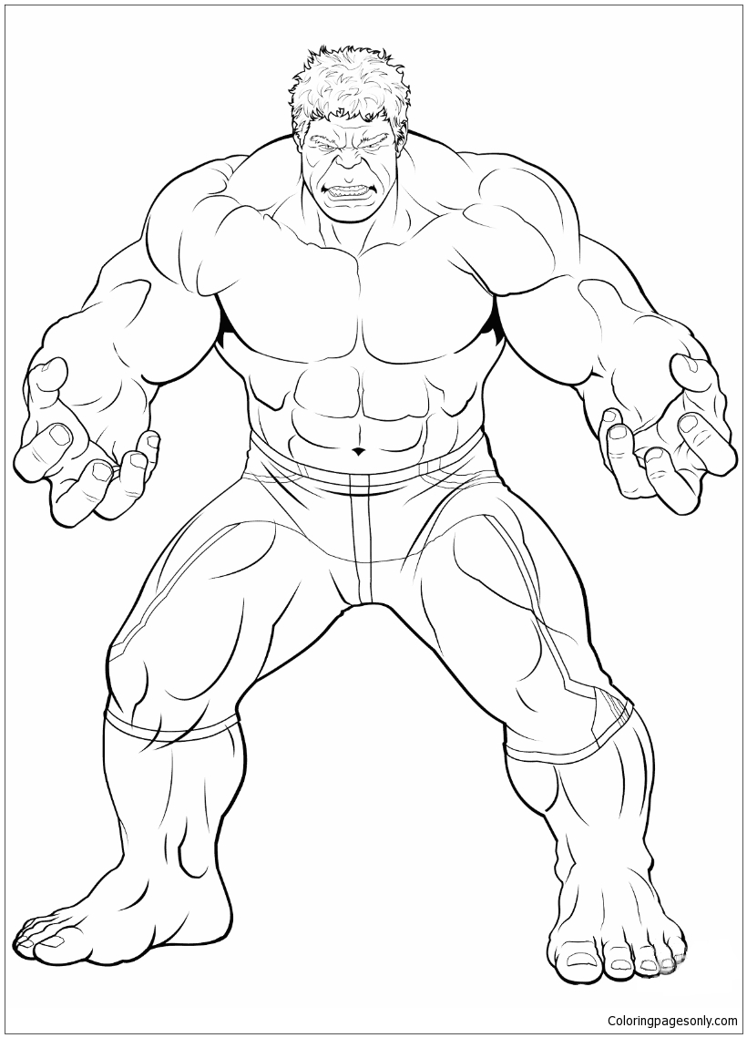 Abomination coloring pages - Hellokids.com | 1139x820
